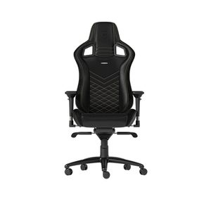 NOBLECHAIRS EPIC PU LEATHER GAMING CHAIR - BLACK I GOLD *เก้าอี้เกมมิ่ง
