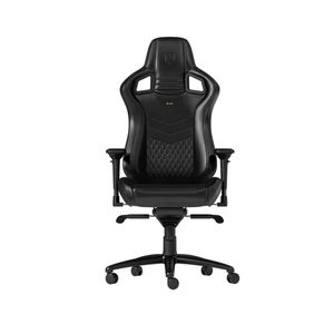 NOBLECHAIRS EPIC NAPPA LEATHER GAMING CHAIR - BLACK *เก้าอี้เกมมิ่ง