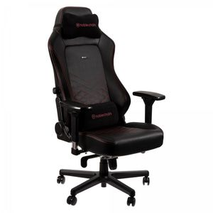 NOBLECHAIRS HERO PU LEATHER GAMING CHAIR BLACK I RED *เก้าอี้เกมมิ่ง