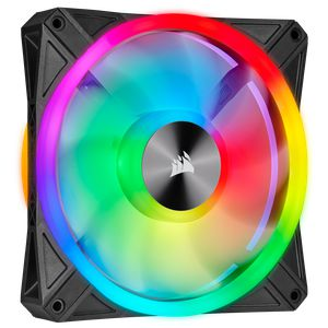 CORSAIR ICUE QL140 RGB 140MM PWM SINGLE PACK *พัดลม