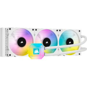 CORSAIR ICUE H150I ELITE CAPELLIX 360MM (120 X 3) WHITE *ชุดน้ำปิด