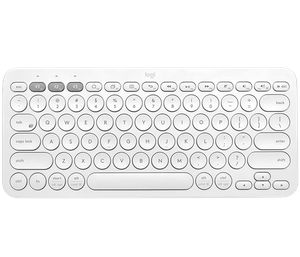 LOGITECH MULTI-DEVICE K380 OFF -WHITE BLUETOOTH (EN) *คีย์บอร์ดสลิม