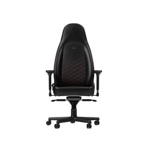 NOBLECHAIRS ICON PU LEATHER GAMING CHAIR - BLACK I RED *เก้าอี้เกมมิ่ง
