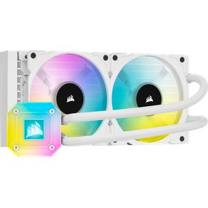CORSAIR ICUE H100I ELITE CAPELLIX 240MM (120 X 2) WHITE *ชุดน้ำปิด