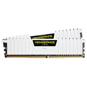CORSAIR VENGEANCE® LPX 16GB (2X8GB) 3200MHZ C16-WHITE *แรม