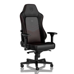noblechairs HERO REAL LEATHER - BLACK | RED *เก้าอี้เกมมิ่ง