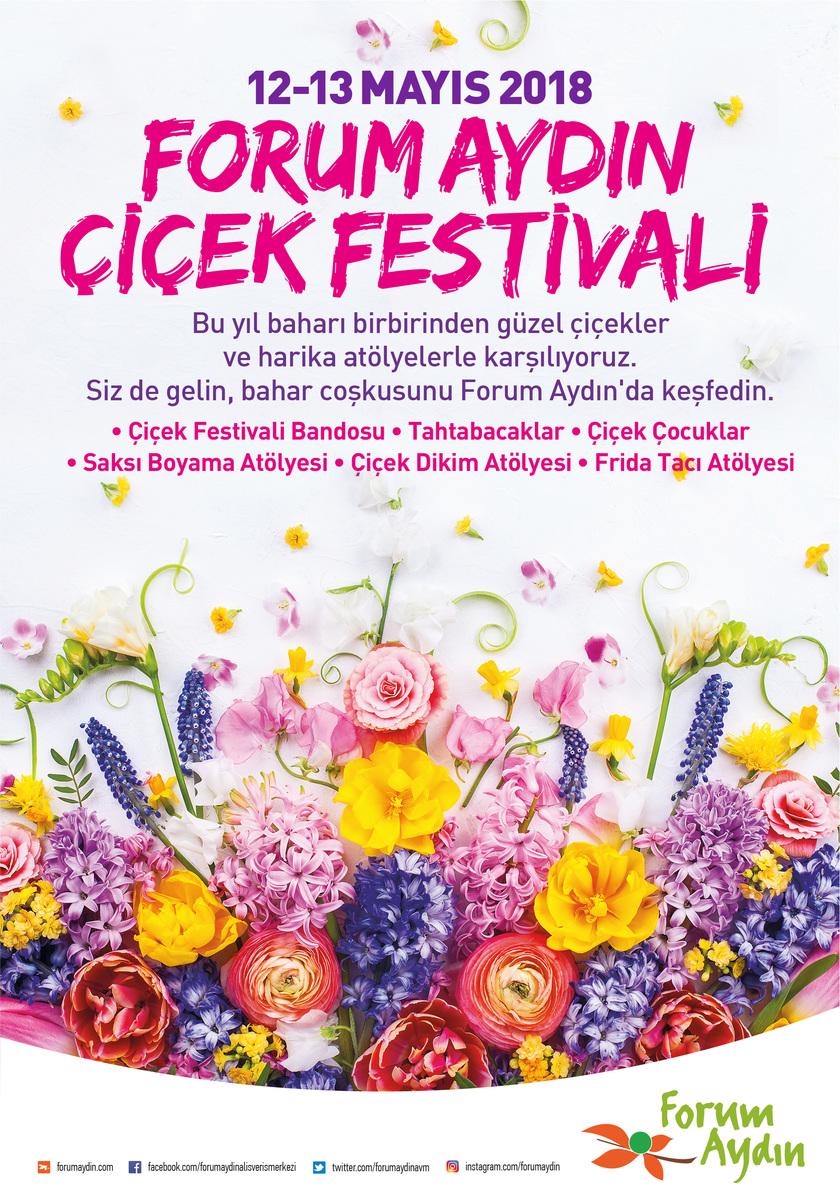 Forum Aydın Anneler Gününde çiçek Açıyor