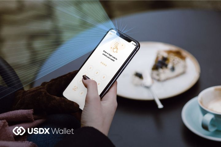 USDX_Wallet_Face_ID
