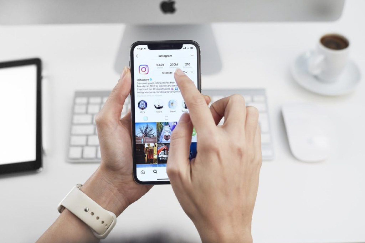 You can now connect your Instagram Business Account