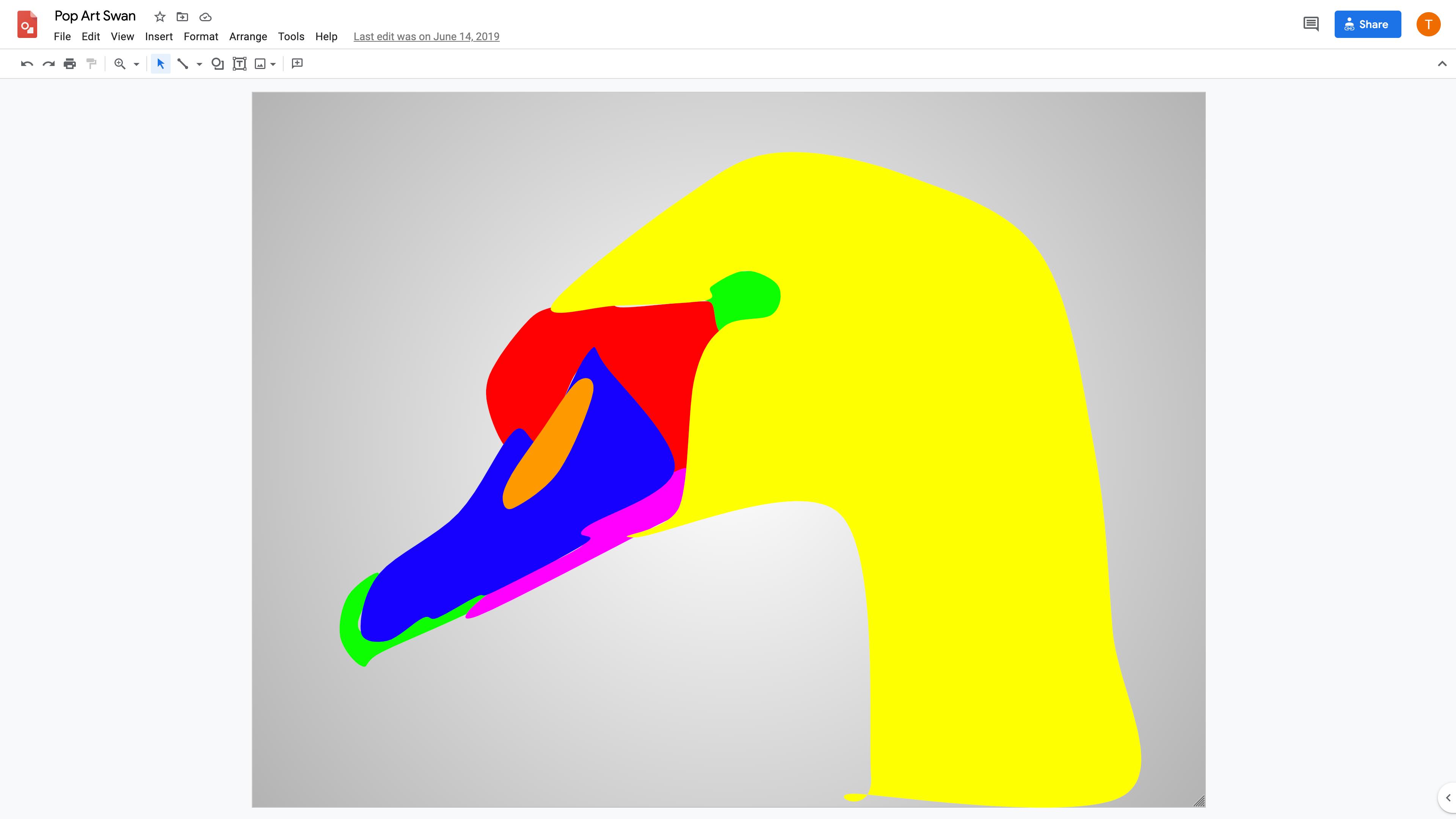 Make Pop Art In Google Drawings Applied Digital Skills
