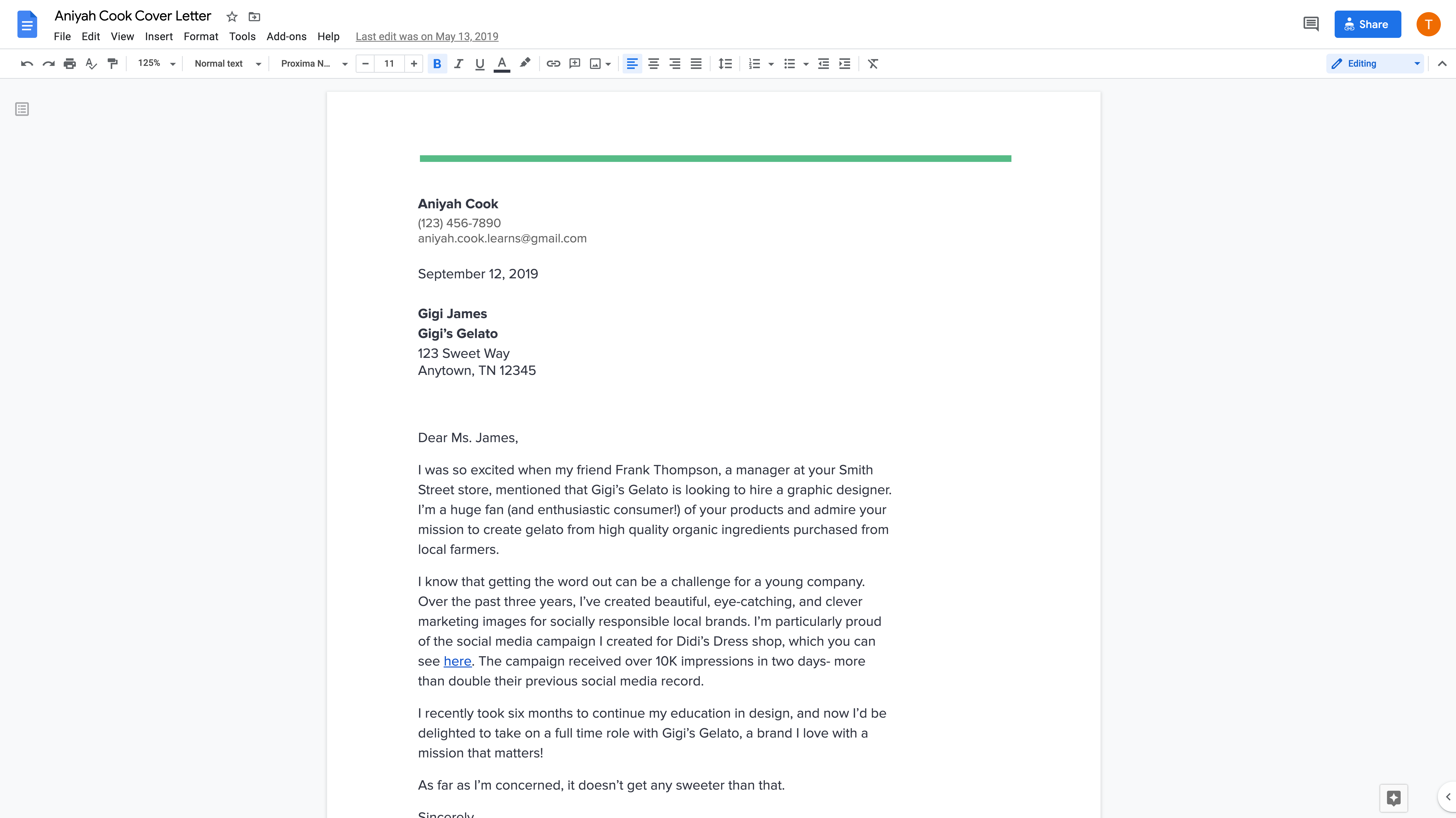 Change Of Career Cover Letter from storage.googleapis.com