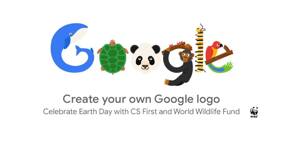 Create your own Google logo for Earth Day