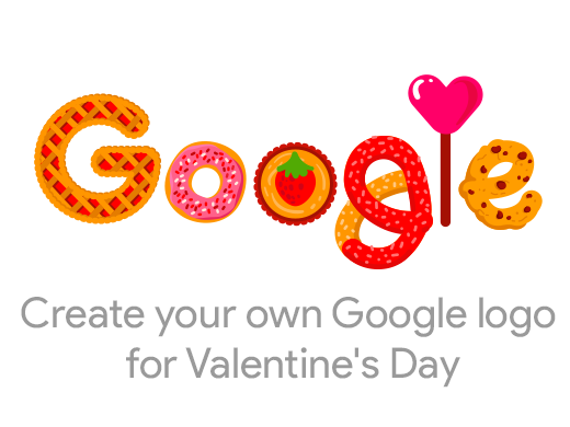 Create Your Own Google Logo For Valentine S Day Create Your Own
