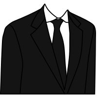 Black Suit.svg