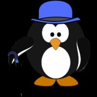 Classy Penguin.svg