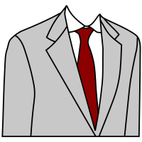 Grey Suit.svg