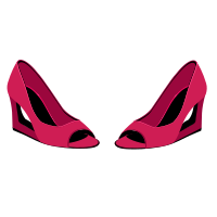 Pink Shoes.svg