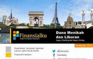 Finansialku E Magazine 2015 - 11 - Dana Menikah dan Liburan
