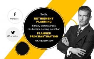Uang untuk Pensiun Tidak Cukup karena Menunda - Perencana Keuangan Independen Finansialku