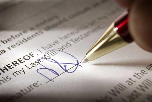 Apa yang Dimaksud dengan Surat Wasiat dan Apa isinya?
