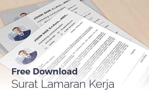 Download Template Lamaran Kerja Dan Contoh Email Lamaran Kerja