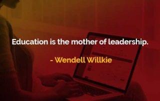Pendidikan Adalah Ibu Dari Kepemimpinan - Finansialku
