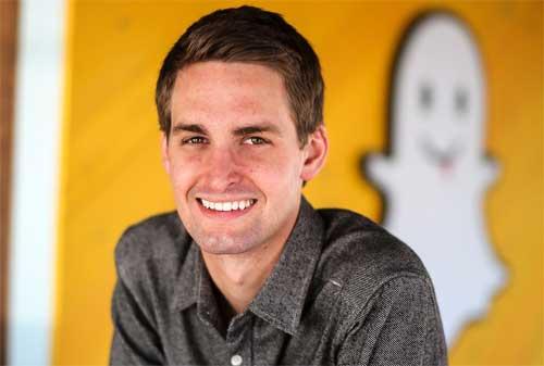 CEO Snapchat, Evan Spiegel Memberikan Kata-kata Motivasi Agar Jadi Anak Muda Terkaya di Dunia 01 - Finansialku