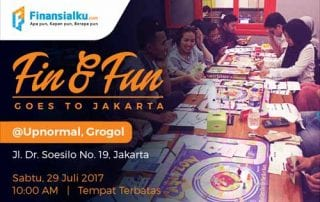 Fin and Fun Batch 3 Finansialku Jakarta Banner