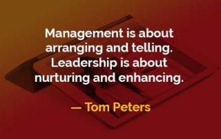 Kata-kata Bijak Tom Peters Manajemen dan Kepemimpinan - Finansialku