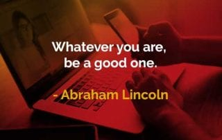 Kata-kata Bijak Abraham Lincoln Jadilah yang Terbaik Dari Diri Anda - Finansialku