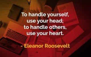 Kata-kata Bijak Eleanor Roosevelt Menangani Diri Sendiri dan Orang Lain - Finansialku