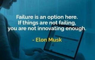 Kata-kata Bijak Elon Musk Kegagalan Adalah Pilihan - Finansialku
