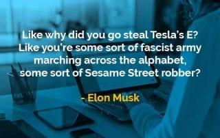 Kata-kata Bijak Elon Musk Mencuri Tesla's E - Finansialku