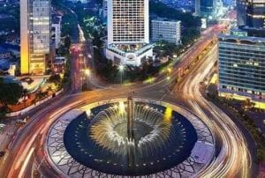 Tempat Wisata di Jakarta - #24 Bundaran Hotel Indonesia - Finansialku