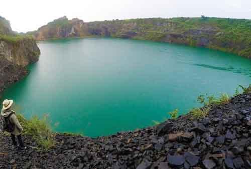 Wisata Bogor - 12 Danau Quarry - Finansialku
