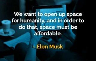 Kata-kata Bijak Elon Musk Membuka Ruang Bagi Kemanusiaan - Finansialku
