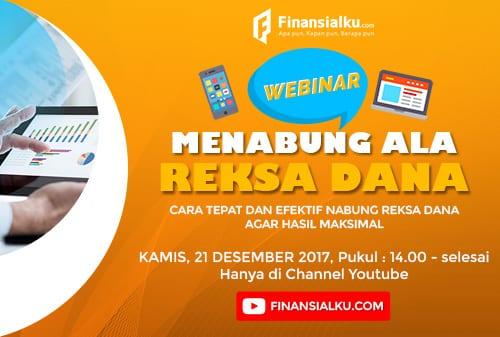 Menabung Ala Reksadana - Webinar Finansialku 500x337