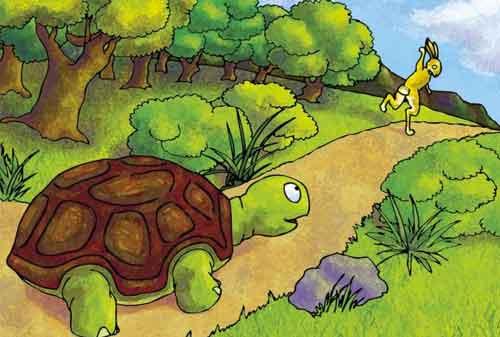 Baca Yuk Pesan Cerita Kelinci Dan Kura Kura Yang Bisa Anda Lakukan