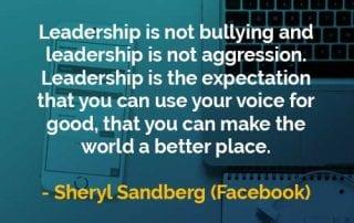 Kata-kata Bijak Sheryl Sandberg Kepemimpinan Adalah Harapan - Finansialku