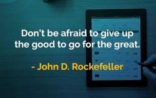 Kata-kata Bijak John D. Rockefeller Jangan Takut Menyerah - Finansialku