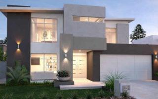 Model Rumah Minimalis 2 Lantai 01 - Finansialku