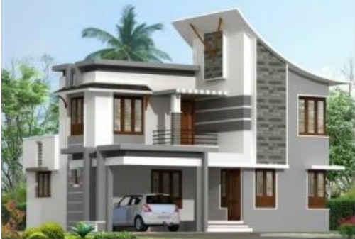 Model Rumah Minimalis 2 Lantai 04 - Finansialku