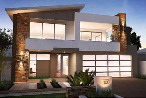 Model Rumah Minimalis 2 Lantai 02 - Finansialku