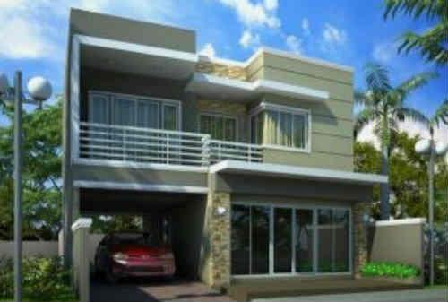 Model Rumah Minimalis 2 Lantai 07 - Finansialku