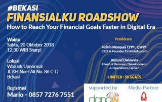 Event How to Reach Your Financial Goals Faster in Digital Era Bekasi