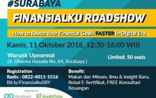 Event How to Reach Your Financial Goals Faster in Digital Era SBY