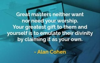 Kata-kata Bijak Alan Cohen Master Hebat - Finansialku