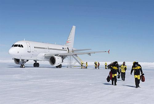 10+ Bandara Unik Di Dunia yang Mendebarkan Jantung Anda - Antartika