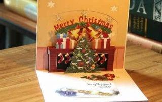 Contoh Keren dan Trik Mudah Membuat Kartu Ucapan Selamat Natal 01 - Finansialku
