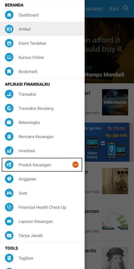 Produk Keuangan Bareksa Aplikasi Finansialku 1